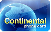 Continental Phone Cards