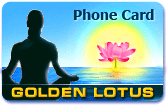 Golden Lotus Phone Cards