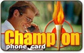 Champion calling card