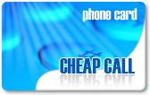 Cheap Call calling card