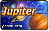 Jupiter Phone Cards